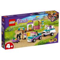 LEGO Friends Szkółka jeździecka i przyczepa dla konia 41441 (4+)