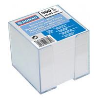 DONAU Kostka z białymi karteczkami w pudełku 83x83x75mm