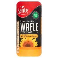 SANTE Extra cienkie wafle ryżowe ze słonecznikiem