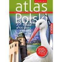 DEMART Szkolny atlas Polski (okładka miękka)