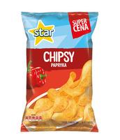 STAR CHIPS Chipsy ziemniaczane o smaku papryki