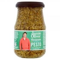 JAMIE OLIVER Pesto z kolendrą i orzechami nerkowca