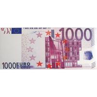MAAN Banknot 1.000 Euro Czekolada mleczna