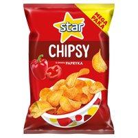 STAR Chipsy o smaku papryka