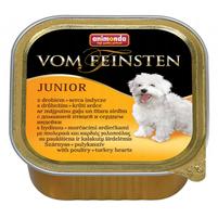 ANIMONDA Vom Feinsten Junior Mokra karma dla psów z drobiem i sercami indyczymi