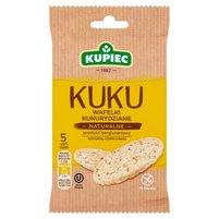 KUPIEC Kuku Wafelki kukurydziane naturalne (5 sztuk)