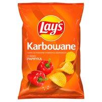 Lay's Chipsy ziemniaczane karbowane o smaku papryki
