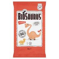 BioSaurus Ekologiczne pieczone chrupki kukurydziane o smaku ketchupowym