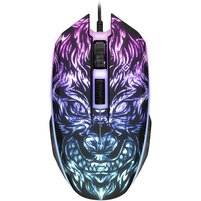 DEFENDER Przewodowa mysz optyczna dla graczy Chaos GM-033 2400 dpi