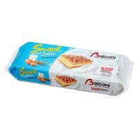 BALCONI Snack Latte Wypiekany wyrób cukierniczy z nadzieniem mlecznym (10 x 28 g)