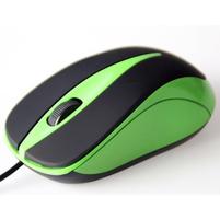 MEDIA-TECH Mysz optyczna Plano MT1091G zielona