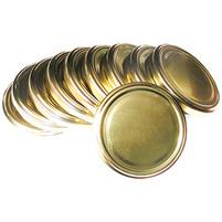 MIK Zakrętka do słoika 82mm duża złota (4 zaczepy)
