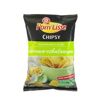 WIODĄCA MARKA Chipsy ziemniaczane o smaku serowo-cebulowym