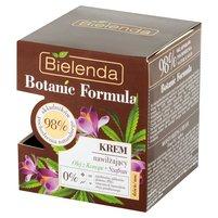 BIELENDA Botanic Formula Krem nawilżający na dzień noc olej z konopi + szafran
