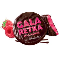 WAWEL Galaretka malinowa w czekoladzie