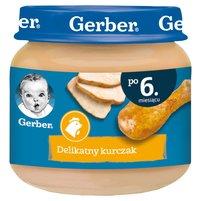GERBER Delikatny kurczak dla niemowląt po 6. m-cu
