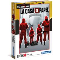 CLEMENTONI La Casa de Papel 1 Puzzle 1000 elem.