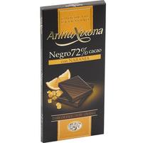 ANTIUXIXONA Czekolada gorzka 72% kakao z pomarańczą