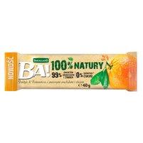 BAKALLAND Ba! Baton daktyle & pomarańcza z prażonymi arachidami i zbożem