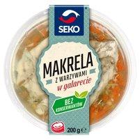 SEKO Makrela z warzywami w galarecie