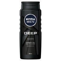 NIVEA MEN Deep Żel pod prysznic do ciała twarzy i włosów