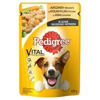 PEDIGREE Vital Protection Karma pełnoporcjowa z kurczakiem i warzywami w sosie