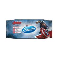 SMILE Marvel Chusteczki odświeżające z antybakteryjnym efektem
