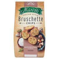 MARETTI Bruschette Pieczone krążki chlebowe o smaku grzybów ze śmietaną