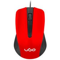 UGO Mysz optyczna UMY-1214 czerwona