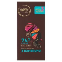 WAWEL Czekolada 74% cocoa ziarno kakaowe z Kamerunu