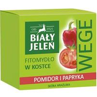 BIAŁY JELEŃ Wege Fitomydło w kostce Pomidor i papryka