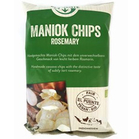 EL PUENTE Chipsy z manioku z rozmarynem Bio