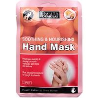 BEAUTY FORMULAS Maska na dłonie odżywczo-kojąca