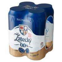 ŽATECKY Piwo bezalkoholowe (4 x 500 ml)