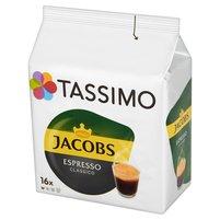 TASSIMO Jacobs Espresso Classico Kawa mielona (16 kaps.)