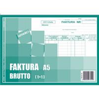EMEKO DRUK FAKTURA VAT BRUTTO A5 1+1