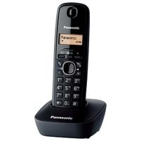 PANASONIC Telefon bezprzewodowy KXTG1611 Czarny