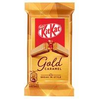 KitKat Paluszek waflowy z białą czekoladą karmelizowanym cukrem i mleczną czekoladą