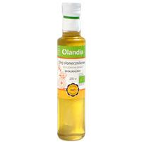OLANDIA Olej słonecznikowy tłoczony na zimno ekologiczny