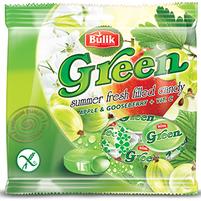 BULIK Green Karmelki nadziewane jabłkowo - agrestowe