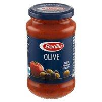 BARILLA Olive Sos do makaronu pomidorowy z zielonymi i czarnymi oliwkami