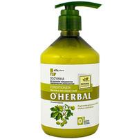 O'HERBAL Odżywka do włosów kręconych i niezdyscyplinowanych z ekstraktem z chmielu