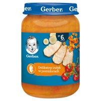 GERBER Delikatny indyk w pomidorach dla niemowląt po 6. m-cu