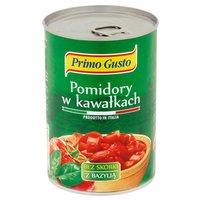 MELISSA Primo Gusto Pomidory w kawałkach bez skórki z bazylią