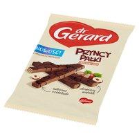DR GERARD PryncyPałki Wafelki z kremem o smaku orzechów laskowych w czekoladzie