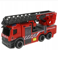 DICKIE TOYS SOS Wóz strażacki z obrotową drabiną (3+)