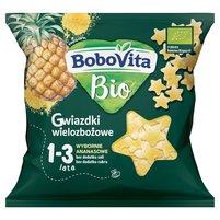 BOBOVITA Bio Gwiazdki wielozbożowe wybornie ananasowe 1-3 lata