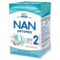 NAN OPTIPRO 2 Mleko modyfikowane w proszku dla niemowląt powyżej 6. m-ca (2 szt.)