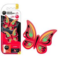 AROMA Zapach samochodowy na kratkę Motylki cherry