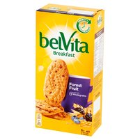 BELVITA Breakfast Forest Fruit Ciastka zbożowe (6x50g)